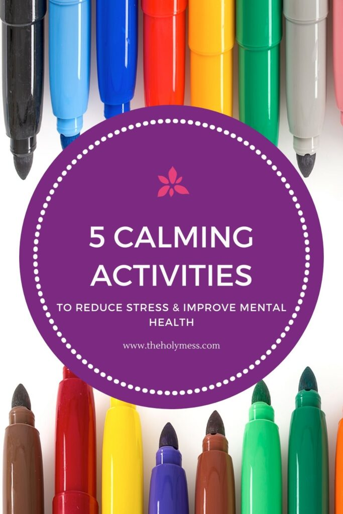 Hobbies to Calm Down and Improve Mood, calming hobbies