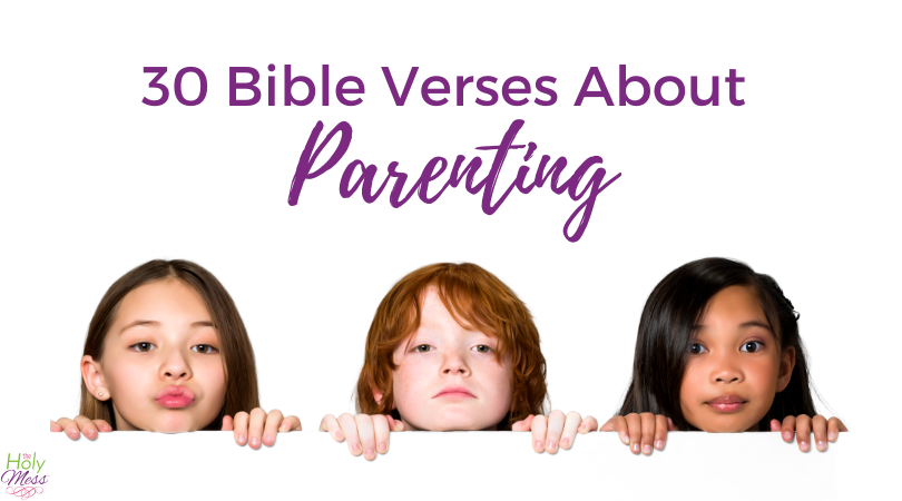 30 Day Bible Reading Plan of Bible Verses About Parenting
