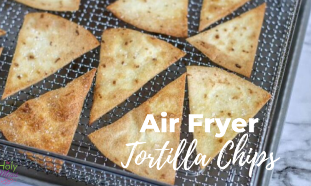 Easy Air Fryer Tortilla Chips