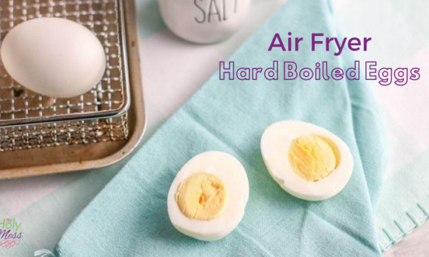 How to Hard Boil Eggs in the Air Fryer