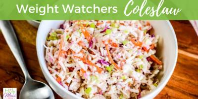 weight watchers coleslaw recipe
