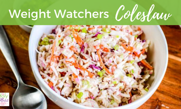Weight Watchers Coleslaw Recipe – Low Fat and Sugar Free