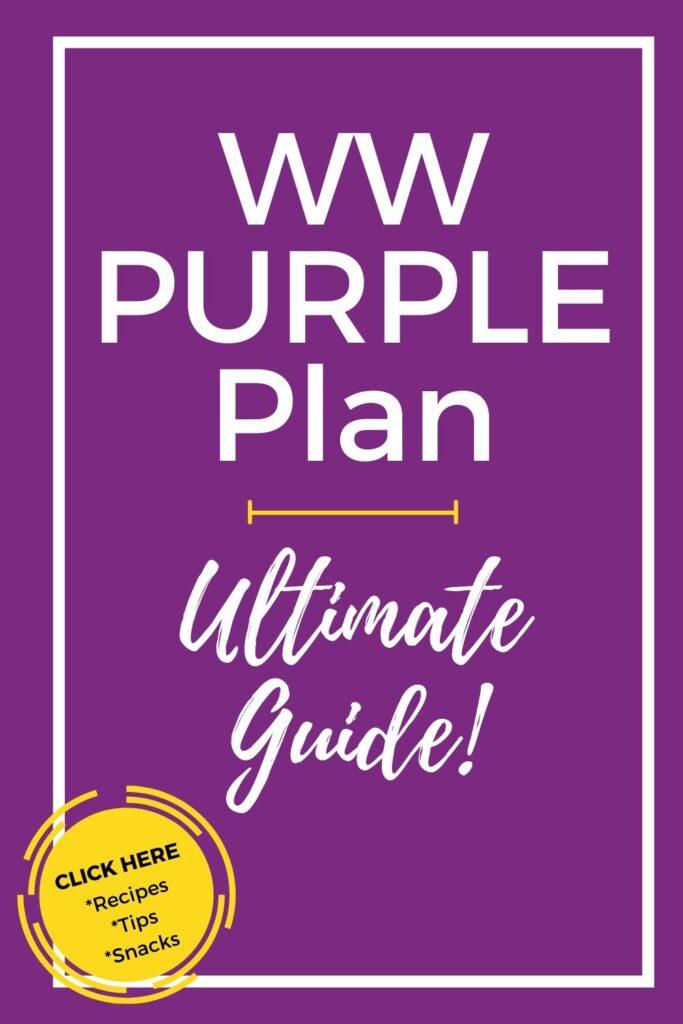 WW Purple Plan Ultimate Guide Pinterest Pin