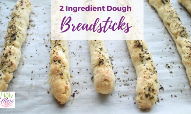 Weight Watchers Two Ingredient Dough Italian Breadsticks