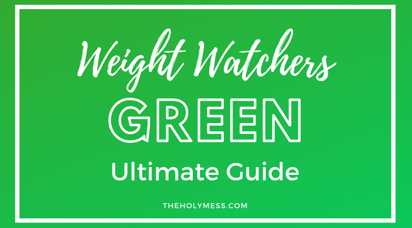 Weight Watchers Green plan