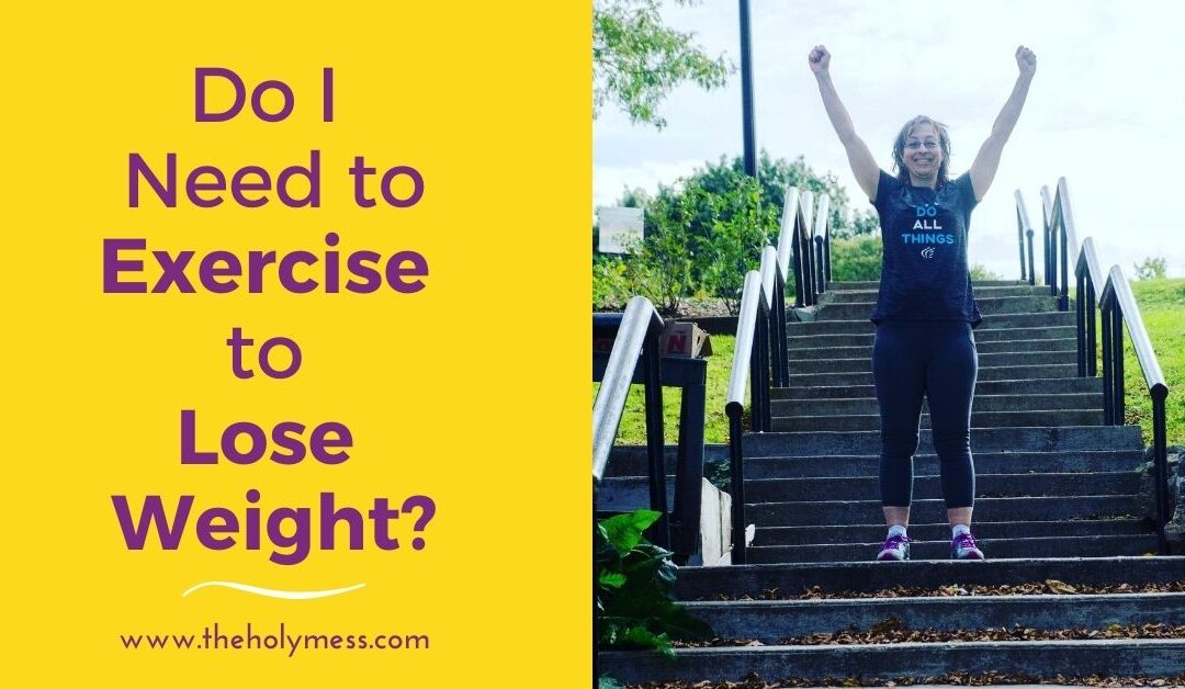Do You Need to Exercise to Lose Weight?