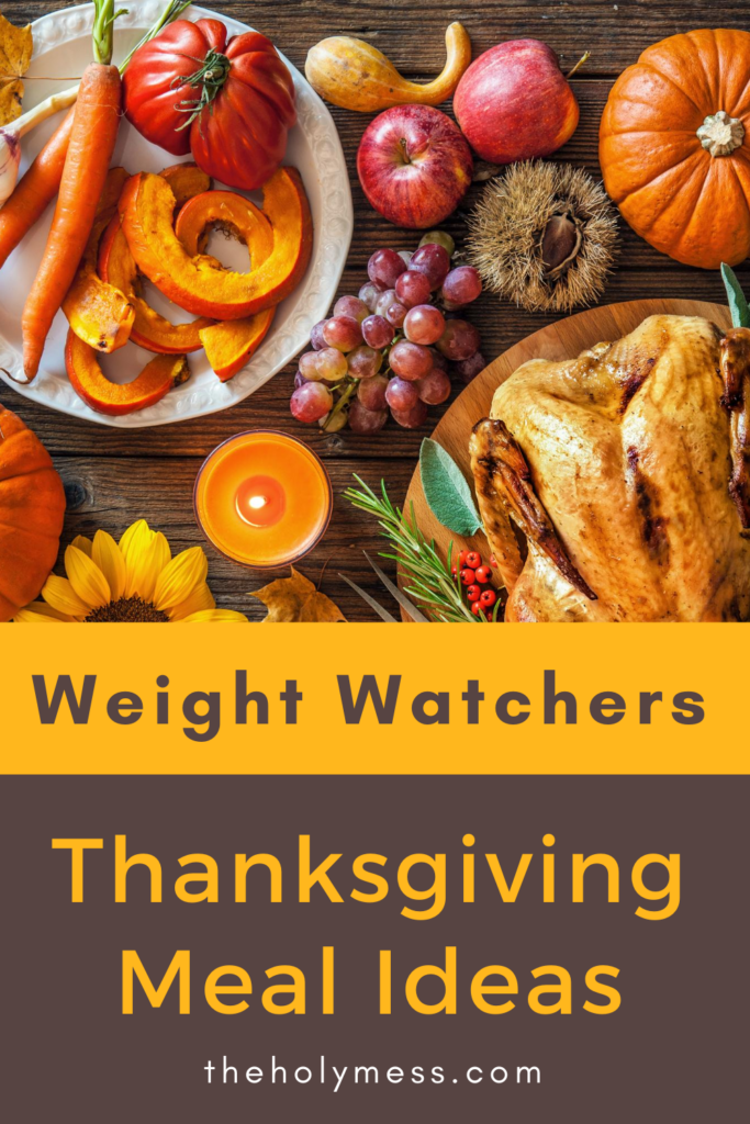 Weight Watchers Thanksgiving