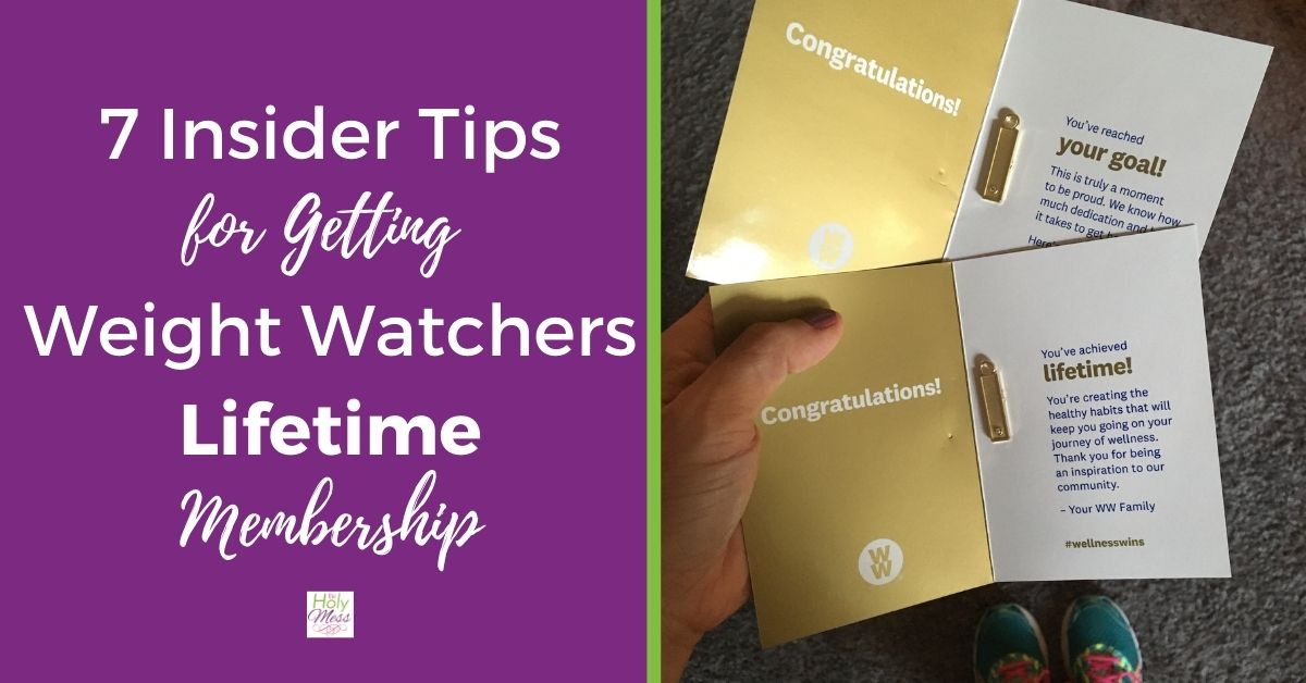 7 Insider Tips for Weight Watchers Lifetime Membership