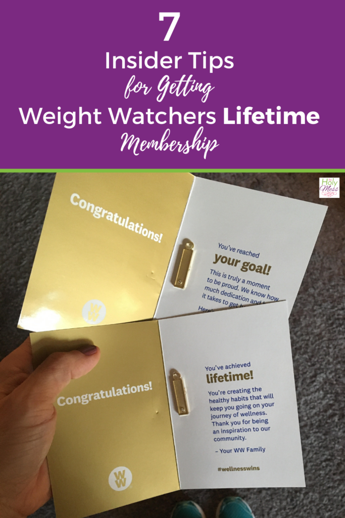 how to Get Weight Watchers Lifetime membership with photo of charms