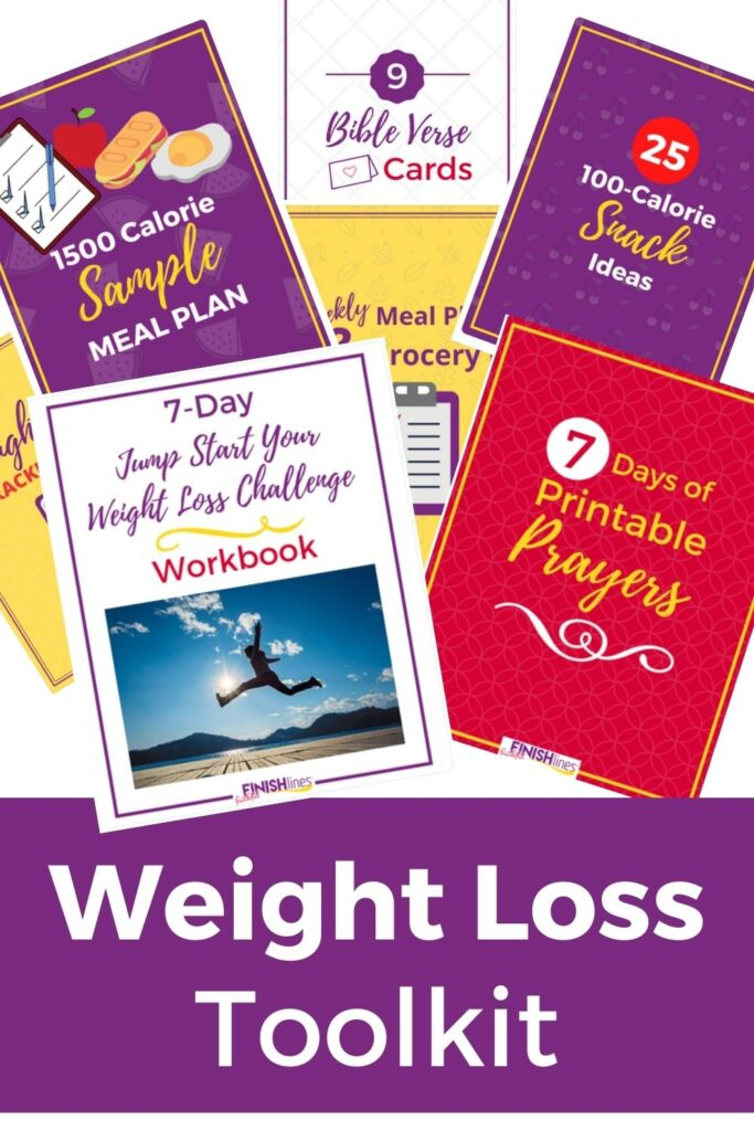 Weight Loss Toolkit Workbooks displayed
