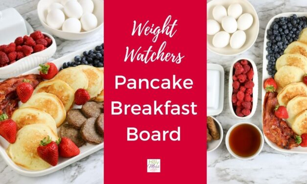 Weight Watchers Breakfast Board