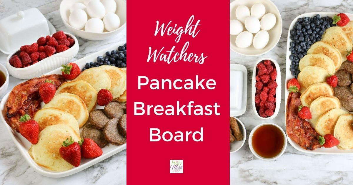 MyWW Pancake Breakfast Spread