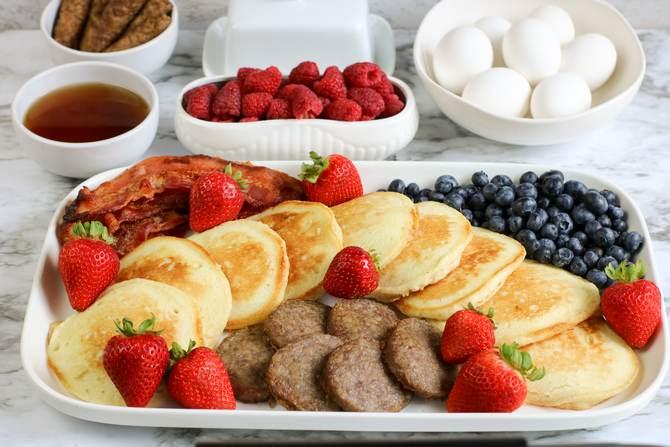 Weight Watchers Pancake Breakfast Board