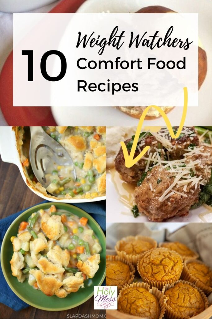Weight Watchers comfort food family-friendly dinner recipes