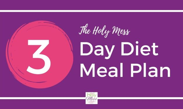 3 Day Diet Meal Plan for Weight Loss