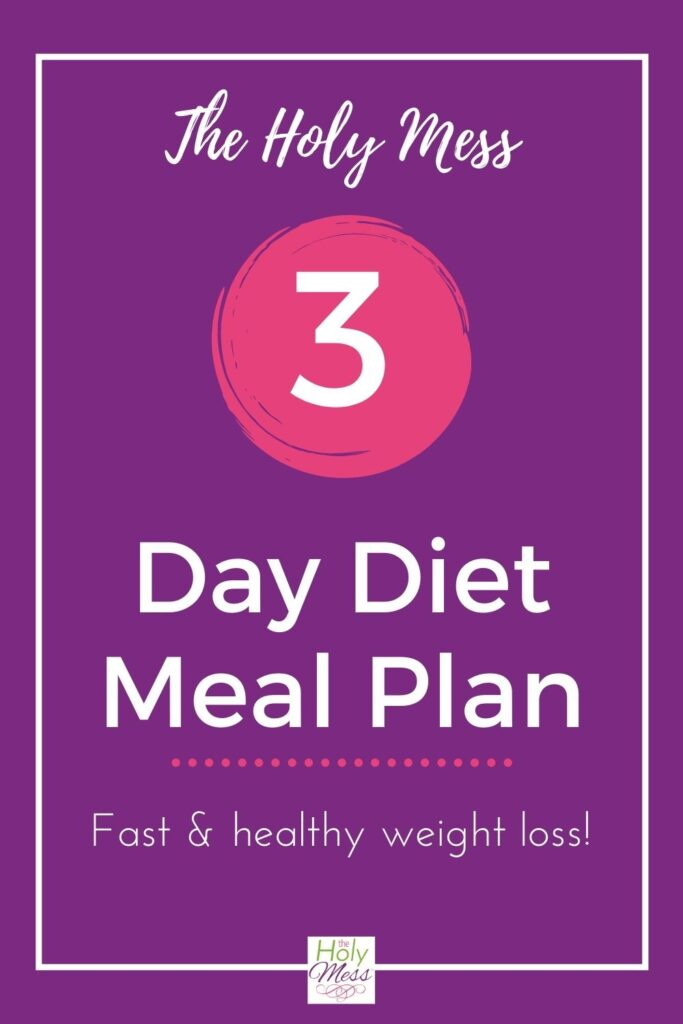 Weight Loss 3 Day Diet
