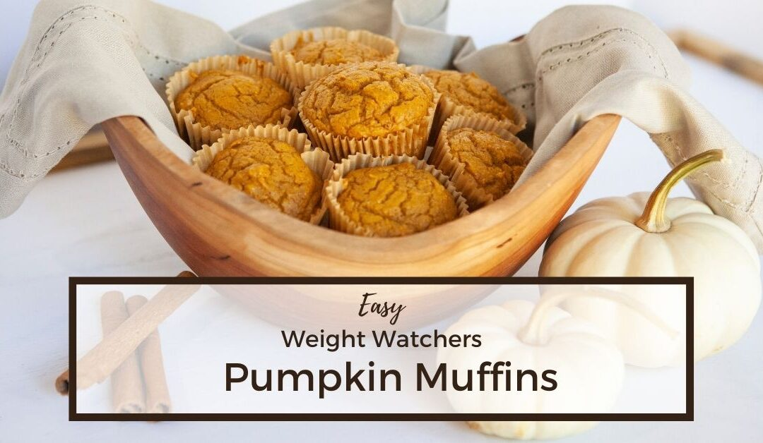 Weight Watchers Pumpkin Muffins – Easy Low Point Recipe