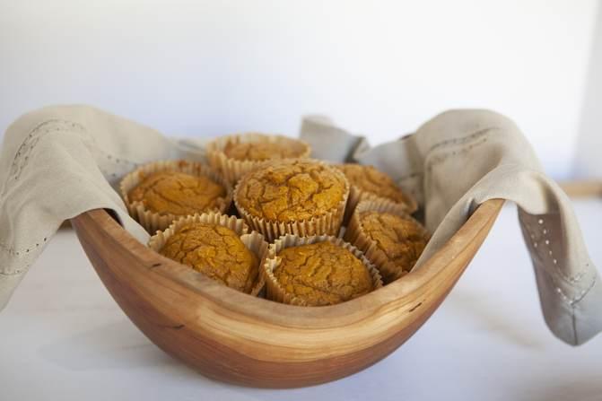 WW 3 ingredient muffins in basket