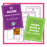 10 More Meals & Snacks Bonus Kit