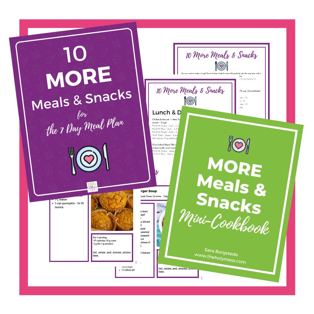 10 More Meals & Snacks Bonus Kit