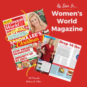 Woman's World magazine 3 day meal plan Sara Borgstede