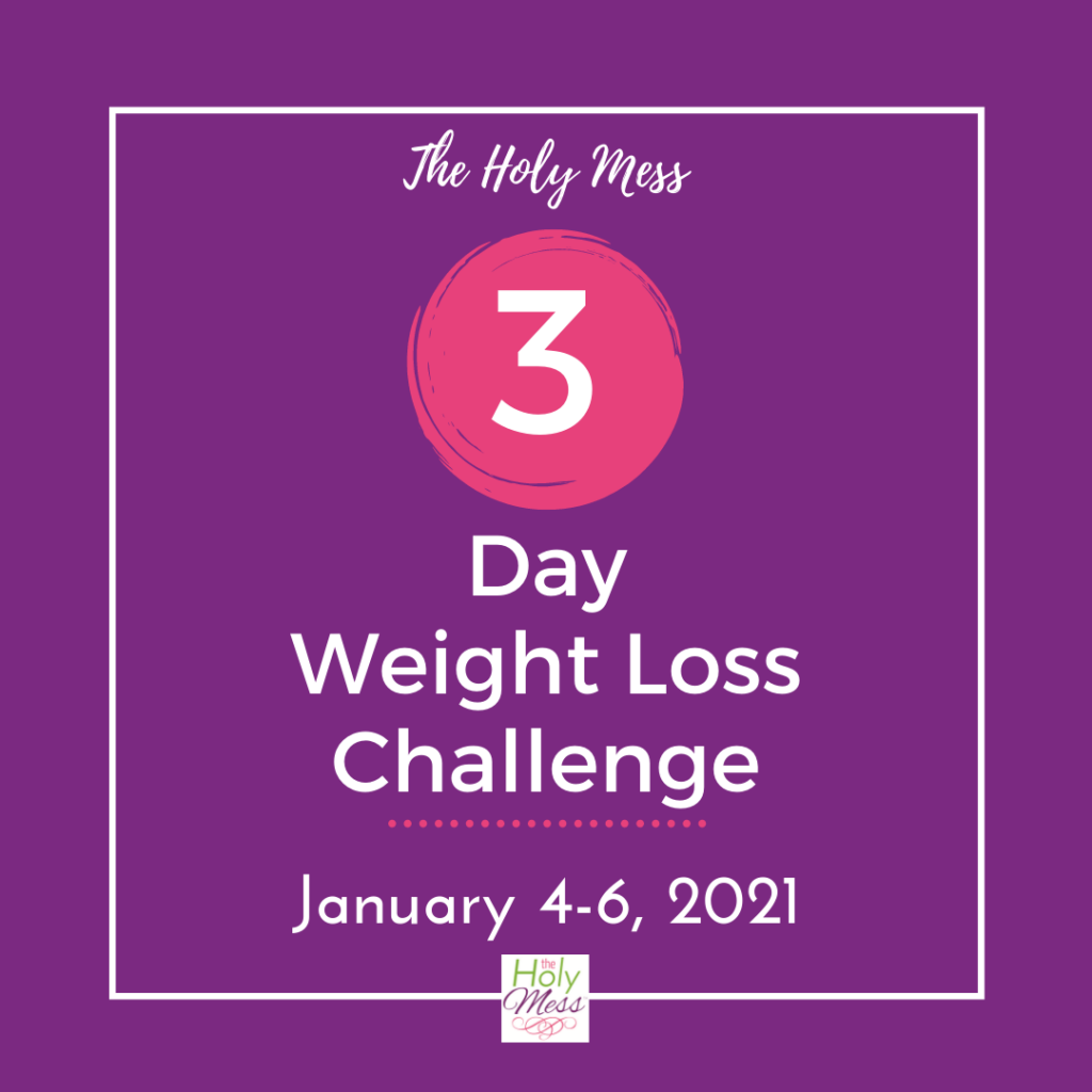 3 Day Diet Challenge January 2021