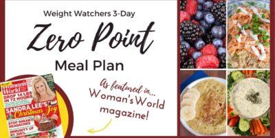 Weight Watchers Meal Plan Woman's World