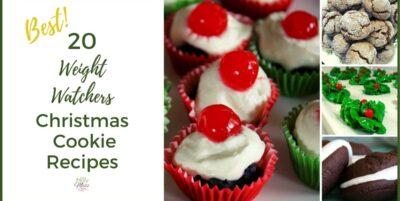 20 Best Weight Watchers Holiday Cookies