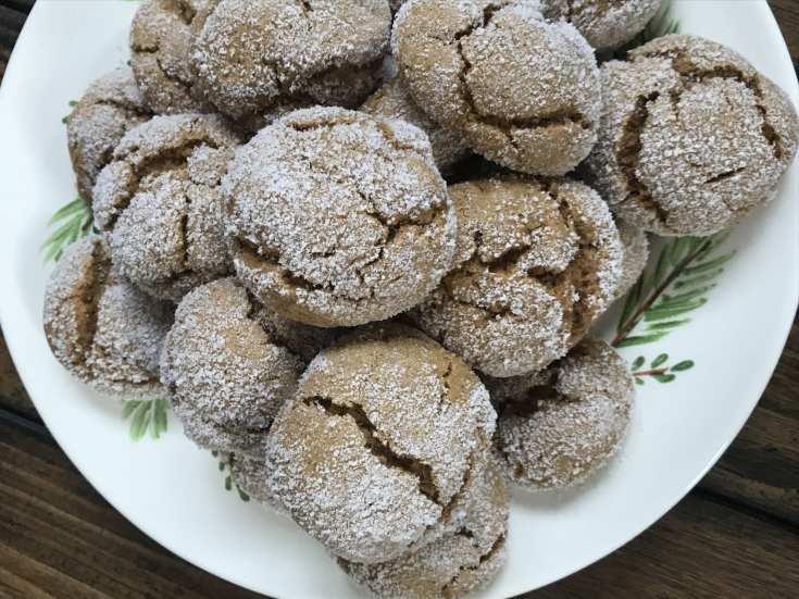 weight watchers ginger cookie