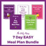 One week weight loss meal plan