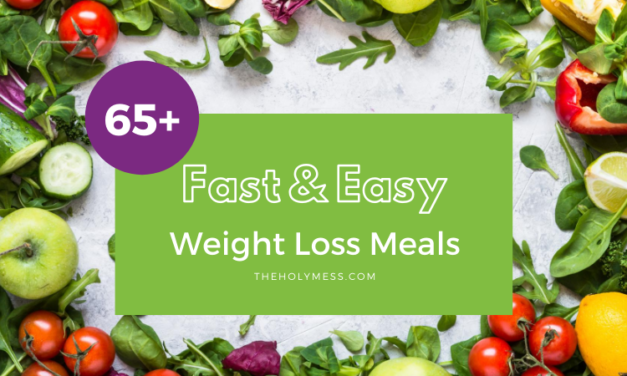 65+ Fast & Easy Weight Loss Meals