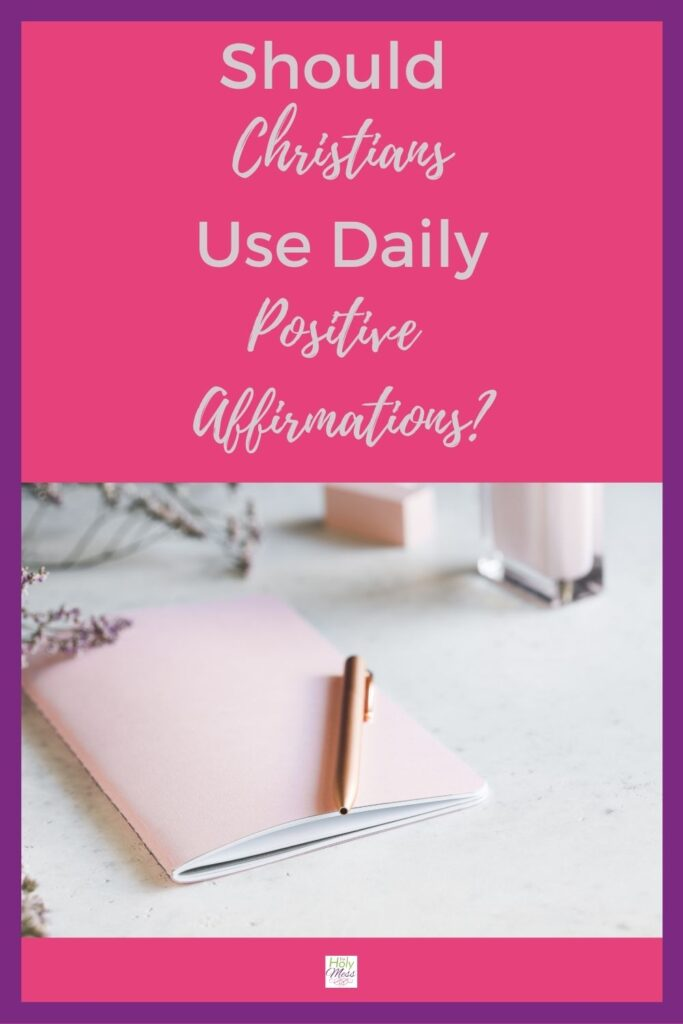 Daily Affirmations for Christians