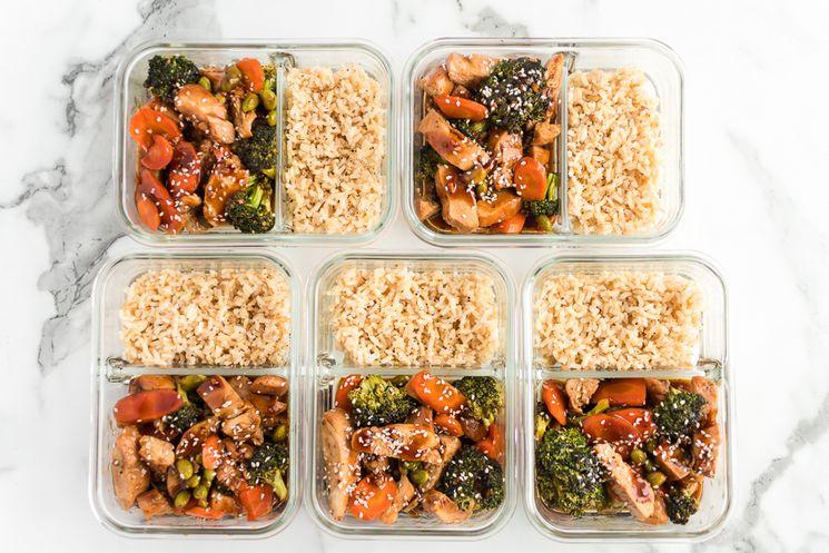 WW Teriyaki Bowls Meal Prep with Rice