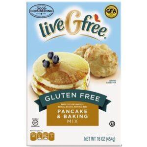 Live G Free pancake mix at Aldi