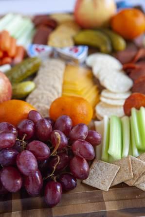 Fruit on ww board