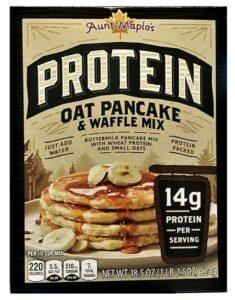 Aunt Maple's Protein pancake mix as a Kodiak alternative