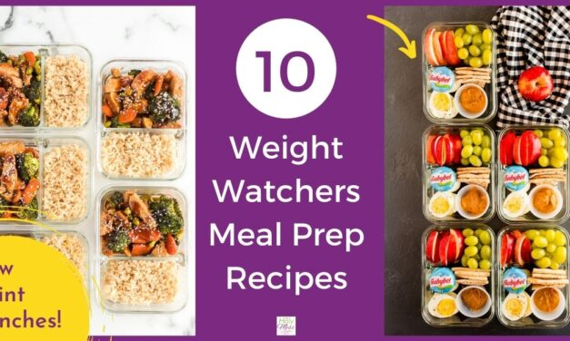 Top 10 Weight Watchers Meal Prep Lunch Recipes