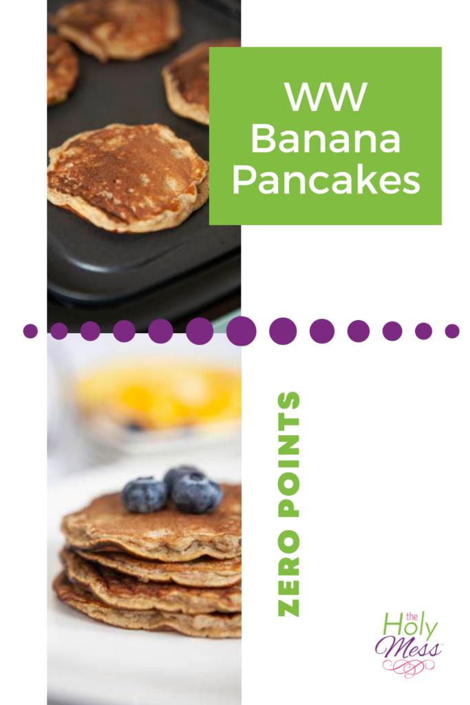 weight watchers banana pancakes recipe