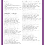 Weight Watchers Aldi Shopping List Printable from The Holy Mess with WW points