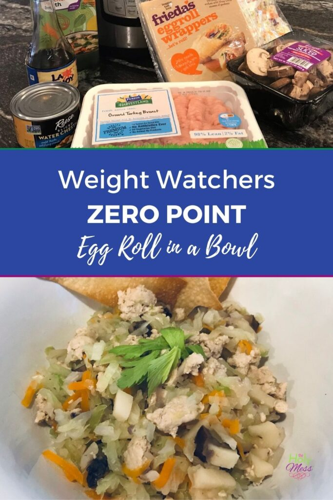 Weight Watchers Zero Point Egg Roll Bowl