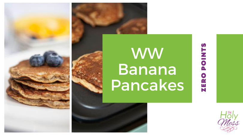 Weight Watchers Banana Pancakes recipe