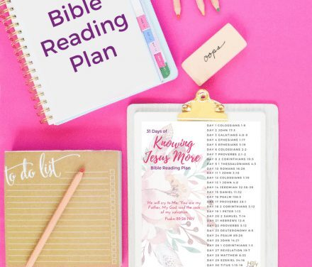 30 Bible Verses to Know Jesus More Printable