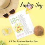 Lasting Joy Bible verses