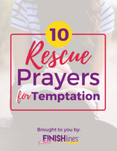 Rescue Prayers for Food Temptation