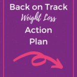 Back on track weight loss action plan