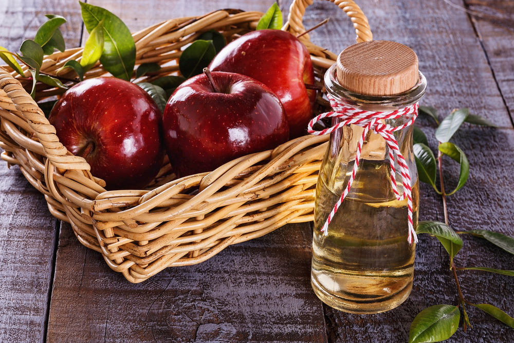 Apple cider vinegar for salads
