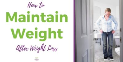 How to Maintain Weight and Keep It Off - Woman on Scale