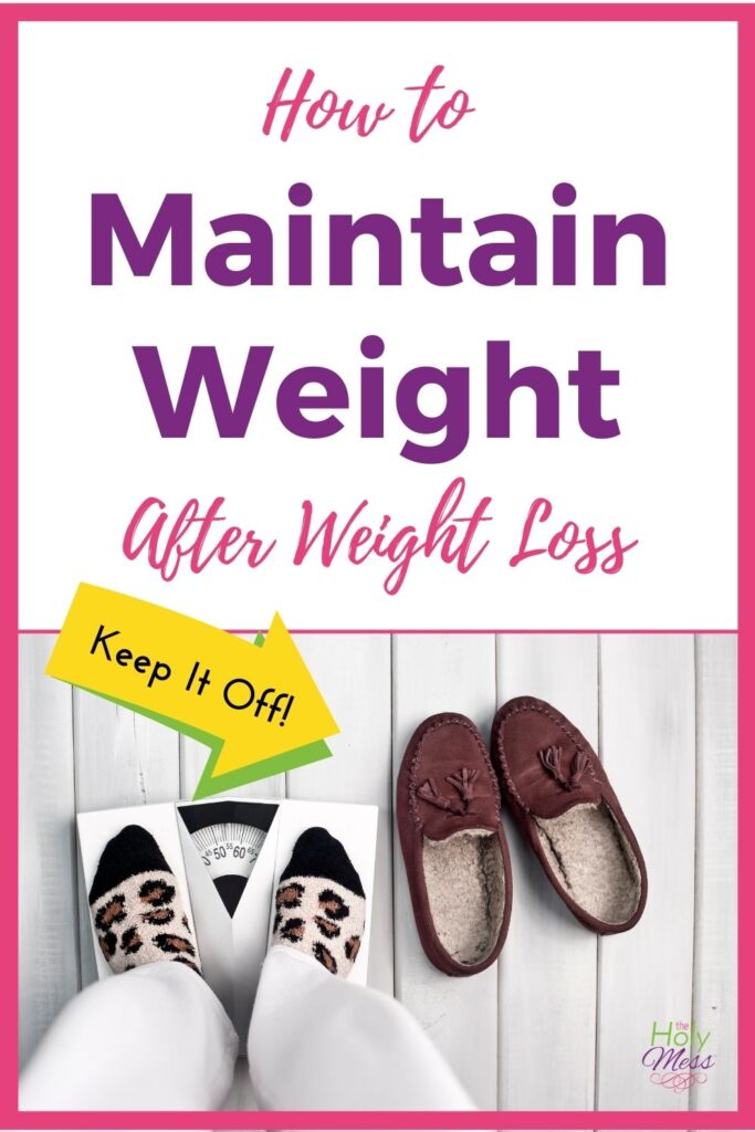 How to Maintain Weight After Weight Loss