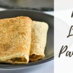 Red Lentil Pancakes on plate