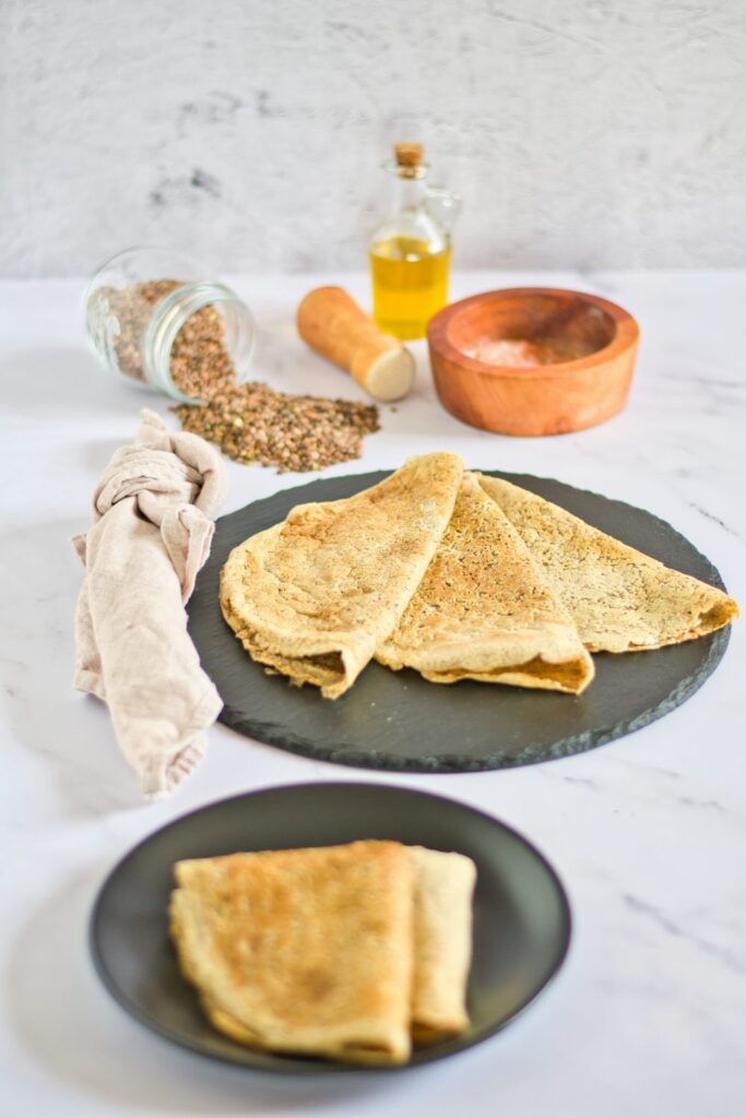 red lentil pancakes with spices